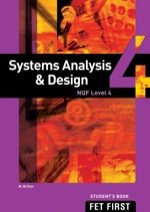 """Systems Analysis & Design NQF4 Student's Book"" (9781431028535)"