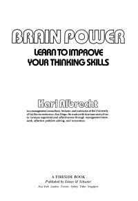 How to Improve Your Thinking Skills: 8 Steps (with Pictures)