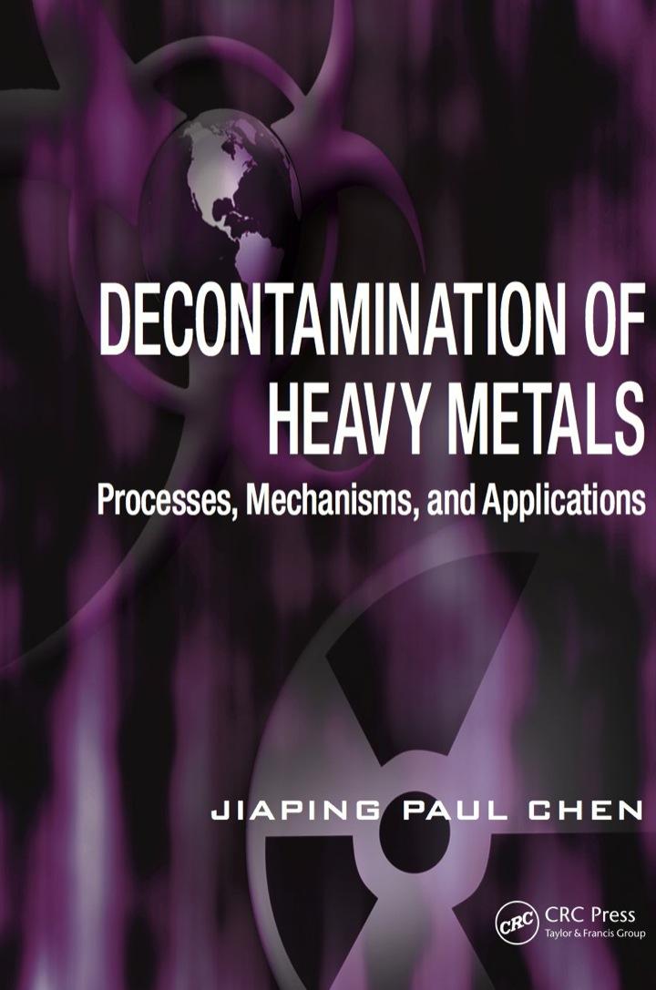 Decontamination of Heavy Metals