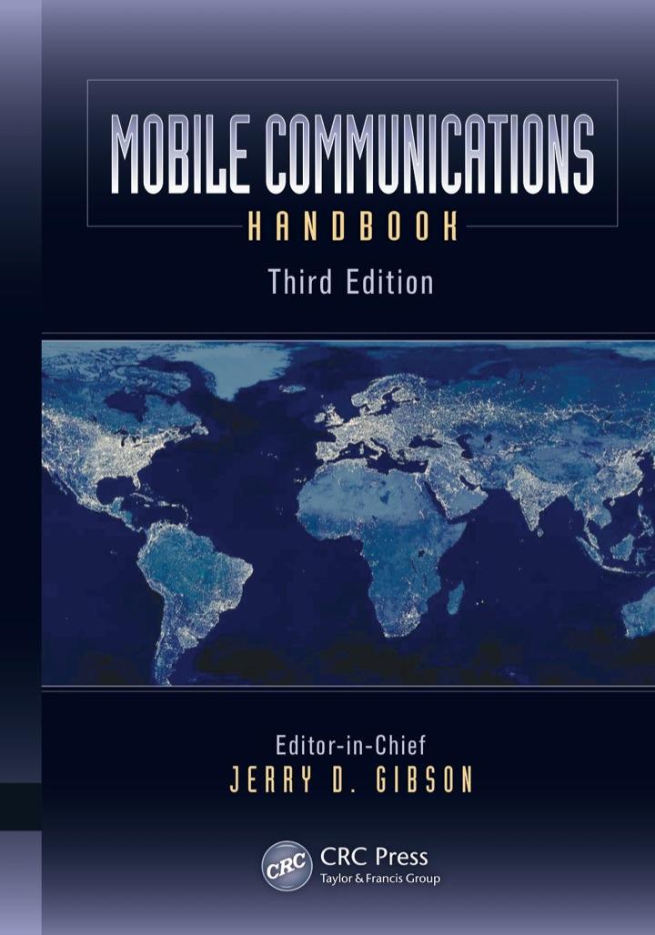 Mobile Communications Handbook