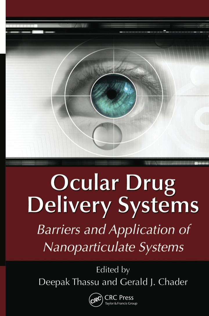 Ocular Drug Delivery Systems