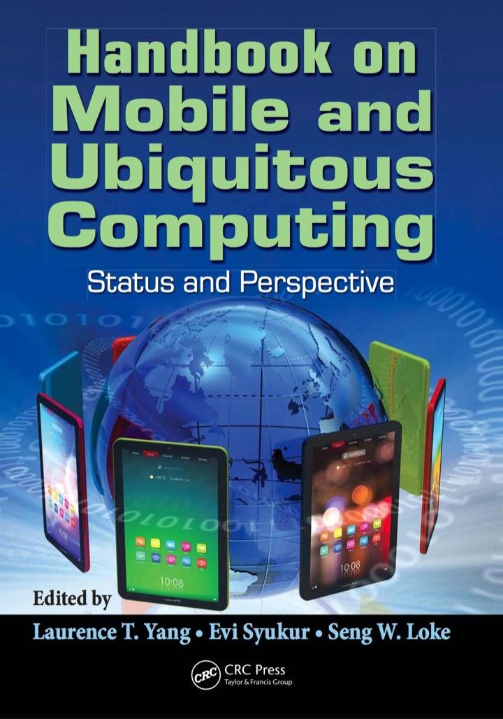Handbook on Mobile and Ubiquitous Computing