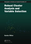 Robust Cluster Analysis and Variable Selection 9781439857977R90