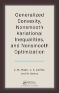 Generalized Convexity, Nonsmooth Variational Inequalities, and Nonsmooth Optimization 9781439868218R90