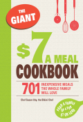 In this supersized edition, you'll find the delicious, deceptively inexpensive recipes you need to spice up family dining at your house--and save money at the same time! With more than 700 easy-to-prepare appetizers, entrées, sides, and desserts, you will whip up great meals in no time--at a great price!You'll find such low-cost culinary masterpieces as:Caprese SaladPeanut Chicken SoupCitrus-Glazed ShrimpHerb-Crusted New York Strip SteakSlow Cooker LasagnaCrab and Spinach RisottoChocolate TrufflesCaramel Mandarin Orange Cakeand much, much more!Whether you are looking for the ultimate comfort food (Mom's Turkey Meatloaf), health-conscious family fare (Baked Eggplant Rolls with Ricotta and Fresh Herbs), or easy slow-cooker crowd pleasers (Queso con Chile), this cookbook makes your job in the kitchen easier, faster, tastier--and cheaper!
