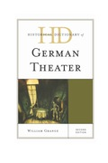 Historical Dictionary of German Theater 9781442250208