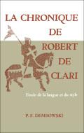 La Chronique de Robert de Clari 9781442638198