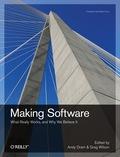 Making Software