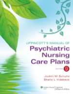 """Lippincott's Manual of Psychiatric Nursing Care Plans"" (9781451172799)"