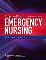 """Lippincott's Q&A Certification Review: Emergency Nursing"" (9781451184983)"