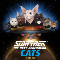 Star Trek: The Next Generation Cats 9781452174174