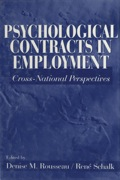 Psychological Contracts in Employment: Cross-National Perspectives 9781452264561