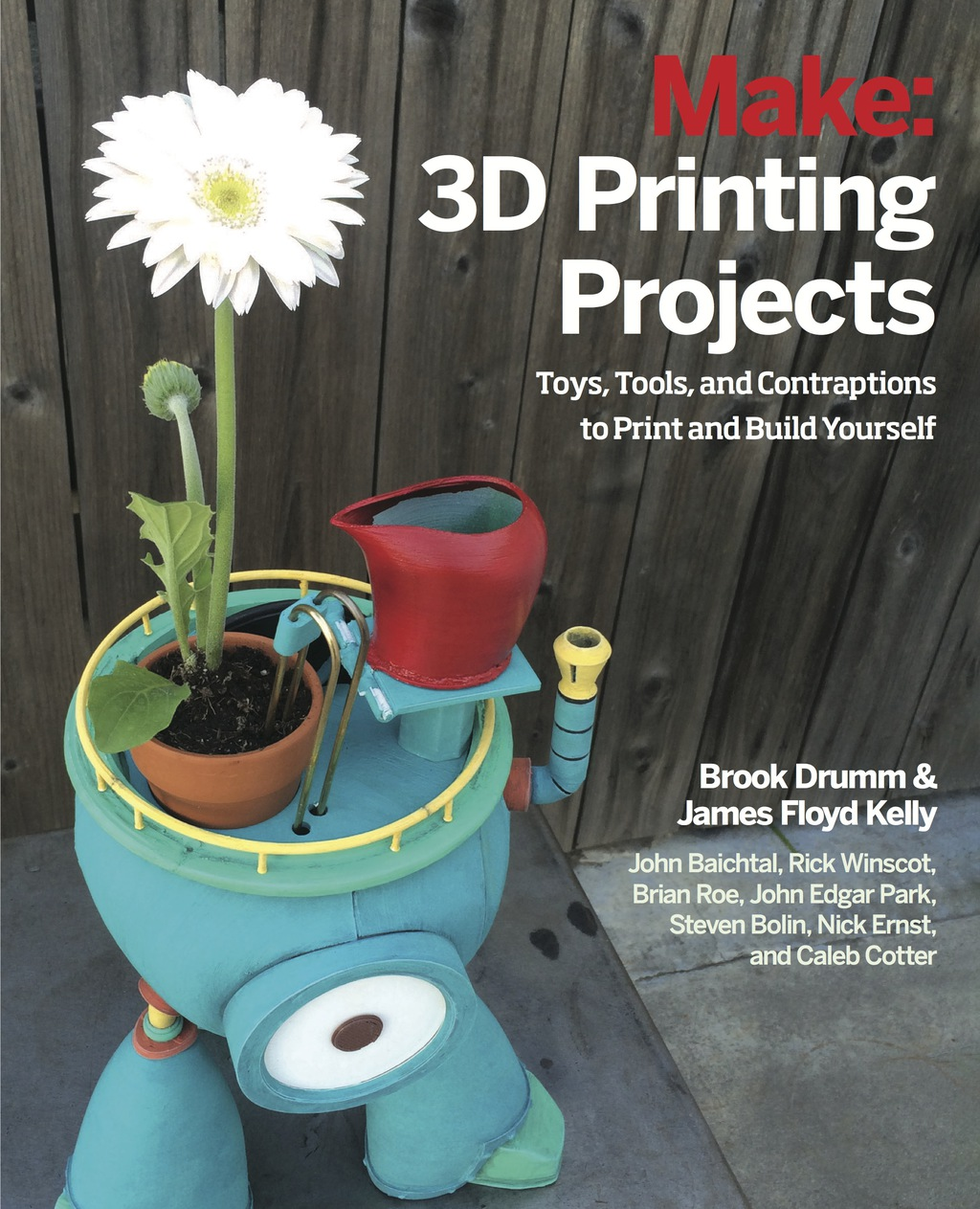 3D Printing Projects (eBook) (9781457187209) photo