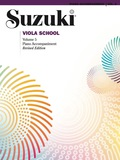 Suzuki Viola School - Volume 5 (Revised): Piano Accompaniment (Viola) 9781457401428