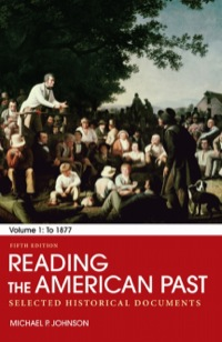 Reading the american past volume i to 1877 selected historical reading the american past volume i to 1877 selected historical documents fandeluxe Gallery