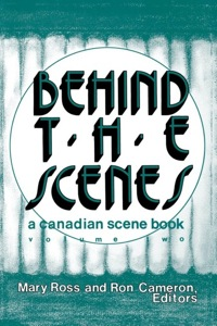 Behind the Scenes              by             Mary Ross