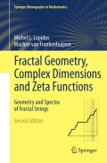 Fractal Geometry, Complex Dimensions and Zeta Functions 9781461421764