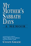 My Mother's Sabbath Days 9781461629665