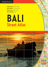 Bali Street Atlas Third Edition              by             Periplus Editions
