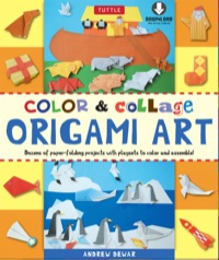 Color & Collage Origami Art Kit Ebook              by             Andrew Dewar