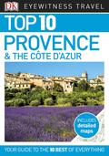 Top 10 Provence & the Cote d'Azur 9781465465184