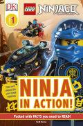 DK Readers L1: LEGO NINJAGO: Ninja in Action 9781465475336