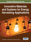 Innovative Materials and Systems for Energy Harvesting Applications 9781466682566