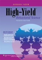 """High-Yield Behavioral Science"" (9781469810980)"