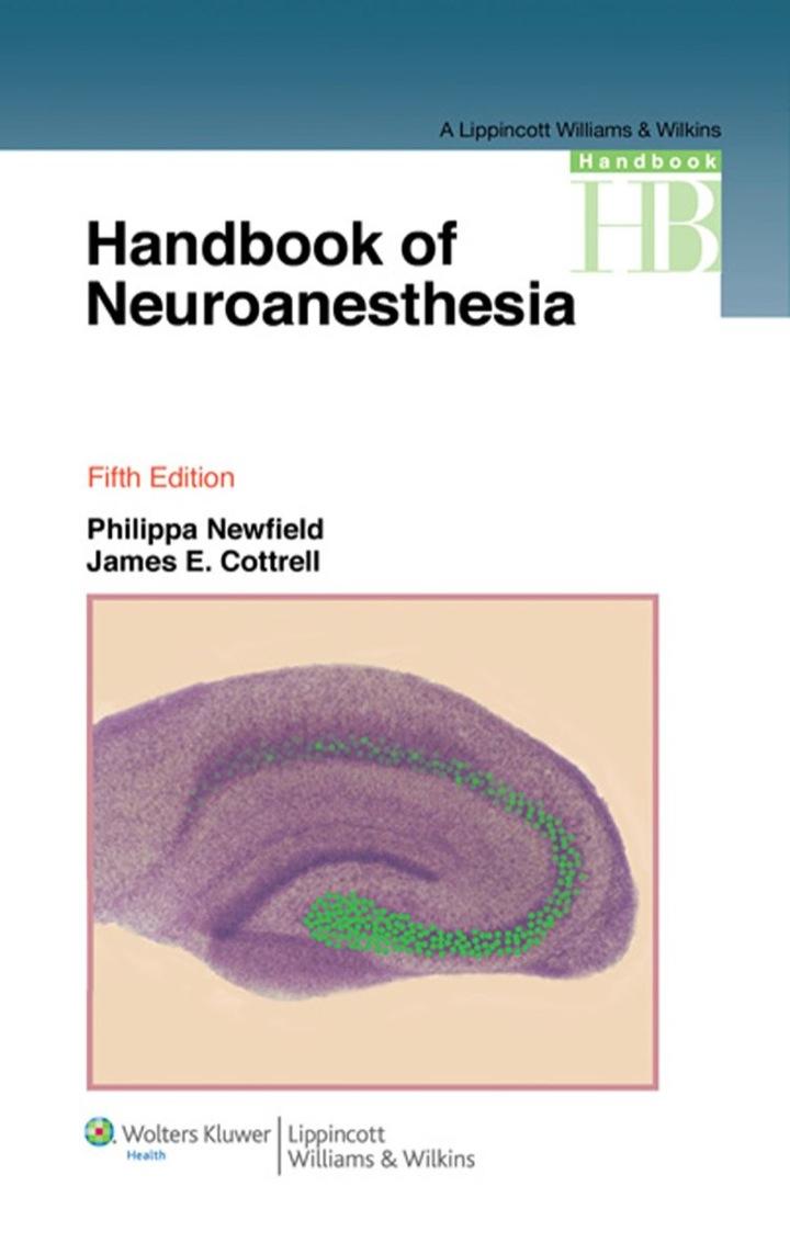 Handbook of Neuroanesthesia