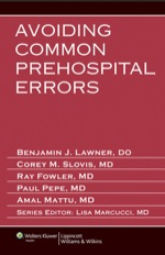 """Avoiding Common Prehospital Errors"" (9781469827384)"