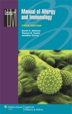 """""""Manual of Allergy and Immunology"""" (9781469827490)"""
