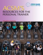 """ACSM's Resources for the Personal Trainer"" (9781469828466)"