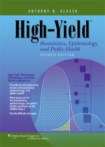 """High-Yield Biostatistics, Epidemiology, and Public Health"" (9781469835259)"