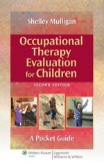 """Occupational Therapy Evaluation for Children"" (9781469838816)"