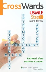 """CrossWards USMLE Step 1 Board Review"" (9781469839226)"