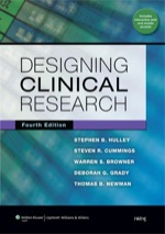 """""""Designing Clinical Research"""" (9781469840550)"""