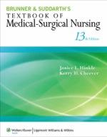 """""""Brunner & Suddarth's Textbook of Medical-Surgical Nursing"""" (9781469842585)"""