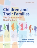 """Bowden Children and Their Families: The Continuum of Nursing Care"" (9781469842592)"