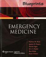 """Blueprints Emergency Medicine"" (9781469845692)"