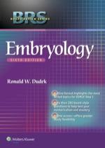 """BRS Embryology"" (9781469873701)"