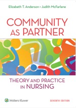 """""""Community as Partner: Theory and Practice in Nursing"""" (9781469893266)"""