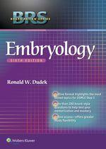 """BRS Embryology"" (9781469896939)"