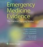 """Emergency Medicine Evidence"" (9781469899565)"