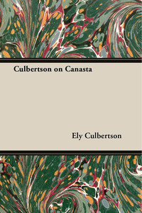 Culbertson on Canasta              by             Ely Culbertson