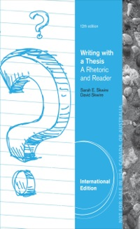 writing with a thesis 10th edition Writing arguments: a rhetoric with readings, brief edition, tenth edition integrates four different approaches to argument: the enthymeme as a logical structure, the classical concepts of logos, pathos, and ethos, the toulmin system, and stasis theory focusing on argument as dialogue in search of solutions instead of a pro-con debate with.