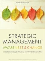 "Strategic Management"" (9781473726505) eBOOK"