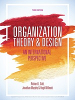 Organization Theory and Design eBOOK (9781473726512)