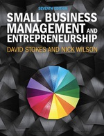 "Small Business Management and Entrepreneurship"" (9781473729766) eBOOK"