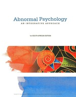 Abnormal Psychology  (9781473734463) eBOOK