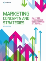 """MARKETING CONCEPTS & STRATEGIES 8E"" (9781473758735)"
